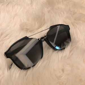 d918a59ca7a69 Dior Accessories - Dior Abstract - Black Silver Mirror 8070T TU